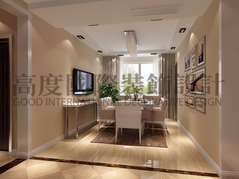 成都高度 别墅装修 别墅装饰 住宅装饰 177㎡ 港式风格 三居 餐厅图片来自北京高度国际装饰设计成都分公司在南湖国际-177㎡-港式风格的分享
