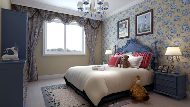白领 80后 卧室图片来自亚光亚装饰神设手小美在富力新城1的分享