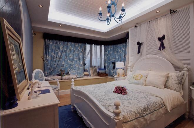 二居 旧房改造 卧室图片来自天津都市新居装饰有限公司在天津装修 地中海风格 都市新居的分享
