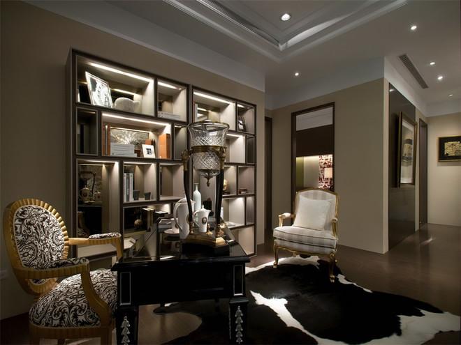 简约 日式 四居 收纳 80后 书房图片来自孙进进在175平四居日式皇家极品公寓的分享