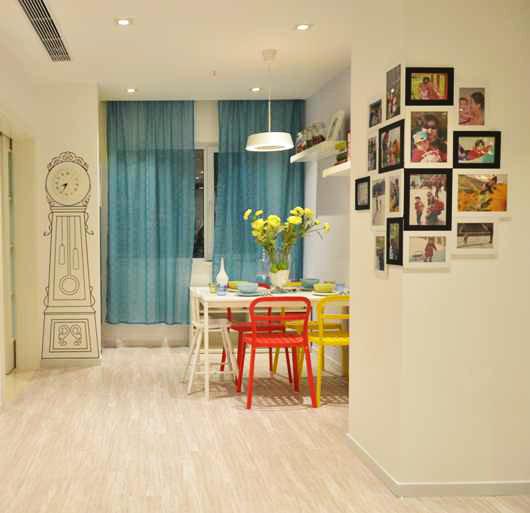 二居 宜家风格 回迁房 餐厅图片来自实创装饰晶晶在使用69平2室回迁宜家之居的分享