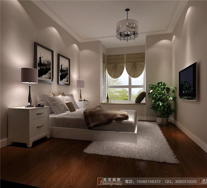 高度国际 卧室图片来自成都高端别墅装修瑞瑞在120平米现代风格-成都高度国际的分享