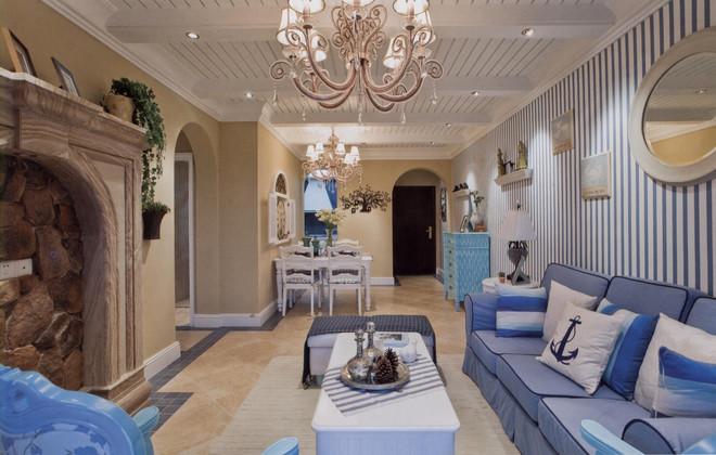 二居 旧房改造 客厅图片来自天津都市新居装饰有限公司在天津装修 地中海风格 都市新居的分享