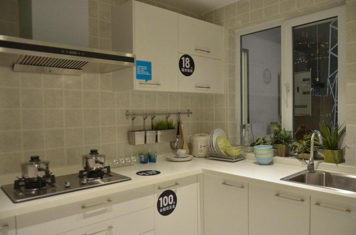二居 宜家风格 回迁房 厨房图片来自实创装饰晶晶在使用69平2室回迁宜家之居的分享