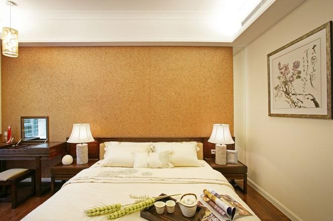 三居 白领 别墅 80后 卧室图片来自天津都市新居装饰有限公司在南开宇正园 新古典 都市新居的分享