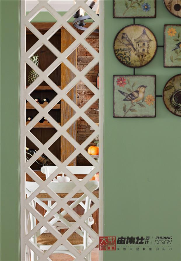 三居 美式 小清新 餐厅图片来自大墅尚品-由伟壮设计在『美の风』—美式乡村风格的分享