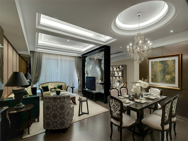 简约 日式 四居 收纳 80后 餐厅图片来自孙进进在175平四居日式皇家极品公寓的分享