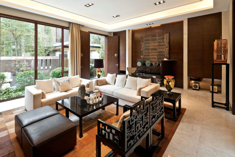 香碧歌庄园 280平米 现代中式 客厅图片来自cdxblzs在香碧歌庄园 280平米 现代中式的分享