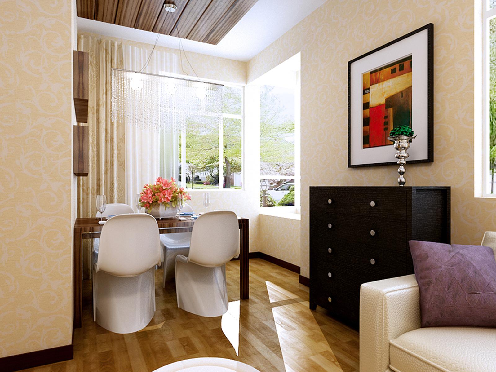 混搭 一居室装修 新房装修 餐厅图片来自实创装饰上海公司在虚实隐现的禅意空间的分享