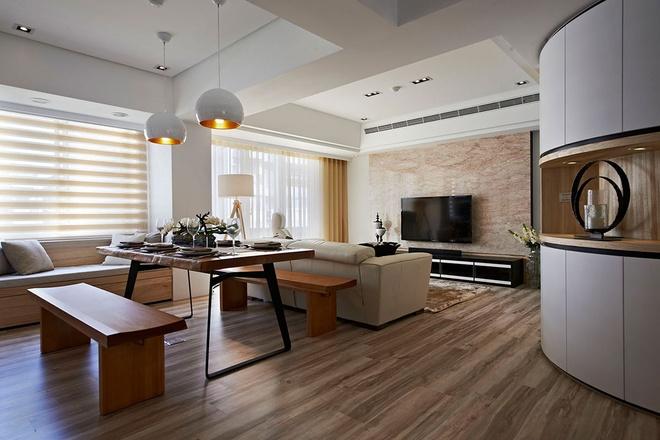 混搭 二居 白领 80后 小资 客厅图片来自天津都市新居装饰有限公司在和平天赐园 混搭风格 都市新居的分享