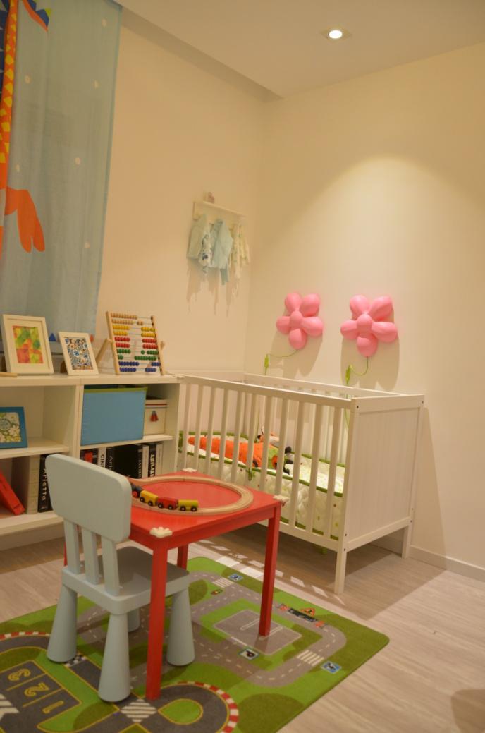 二居 宜家风格 回迁房 儿童房图片来自实创装饰晶晶在使用69平2室回迁宜家之居的分享