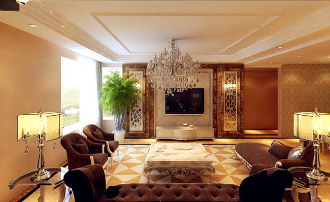 欧式 二居 80后 客厅图片来自方林装饰在企业家钟爱的欧式风的分享