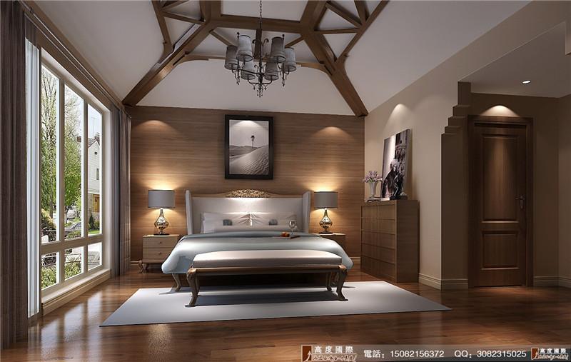 高度国际 卧室图片来自成都高端别墅装修瑞瑞在200平米后现代-成都高度国际的分享