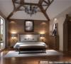 万科五龙山主卧室细节效果图-成都高度国际装饰