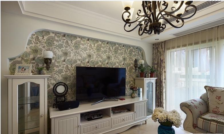 三居 田园 家庭装修 阿拉奇设计 客厅图片来自阿拉奇设计在韩式田园家庭装修的分享