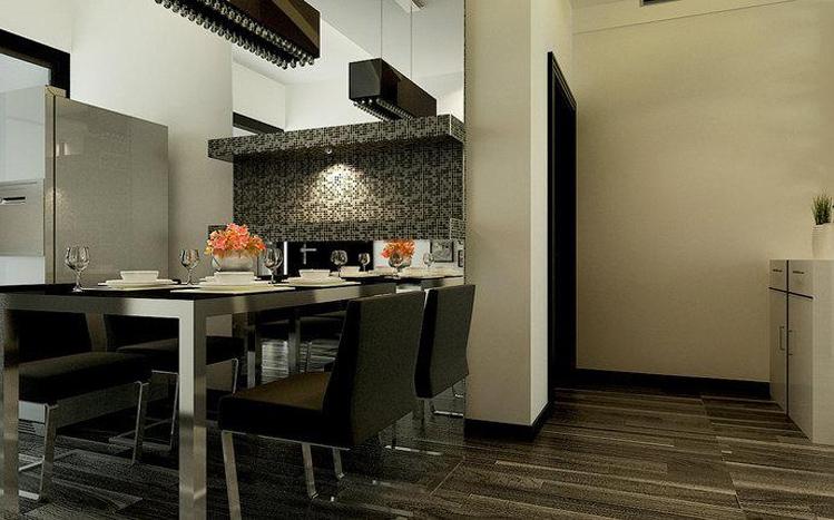 简约 白领 收纳 80后 小资 餐厅图片来自实创装饰百灵在四居硬朗简约风160平米的分享