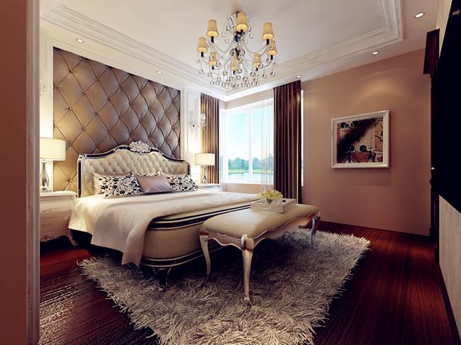 欧式 二居 80后 卧室图片来自方林装饰在企业家钟爱的欧式风的分享