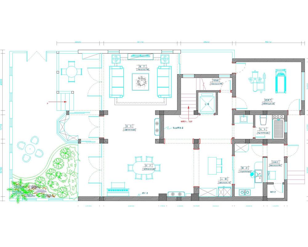 别墅 别墅装修 别墅设计 聚通装潢 长堤半岛 户型图图片来自jtong0002在长堤半岛别墅装修简欧风格设计的分享