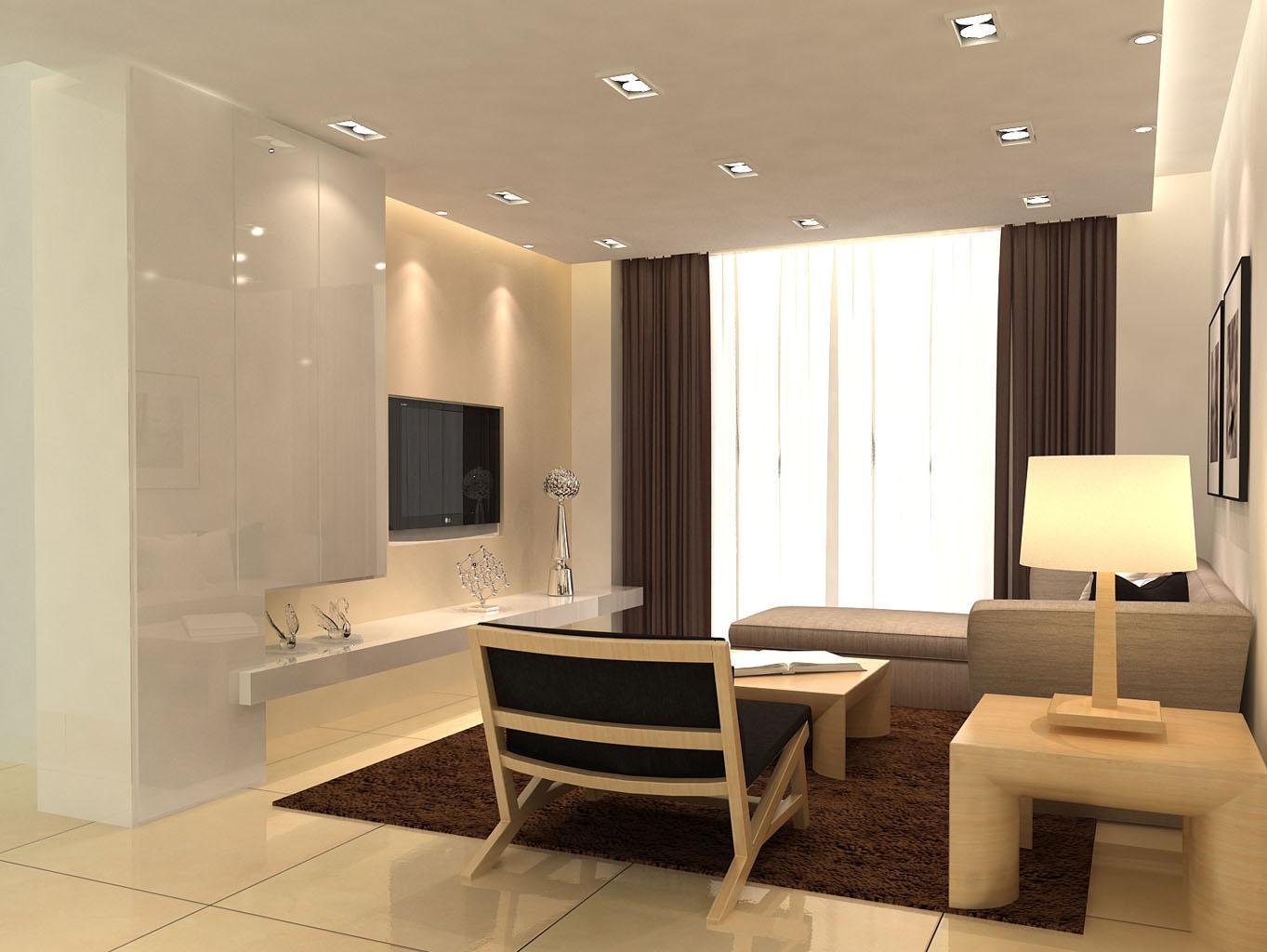 二居 简约 尚东紫御 实创装饰 客厅图片来自传承正能量在12.7万的简约时尚的舒适空间的分享
