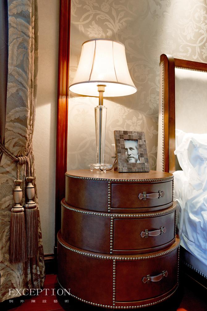 室内设计 例外软装 例外设计 室内设计师 软装设计 卧室图片来自例外软装设计在古韵留香--舟山百合公寓的分享