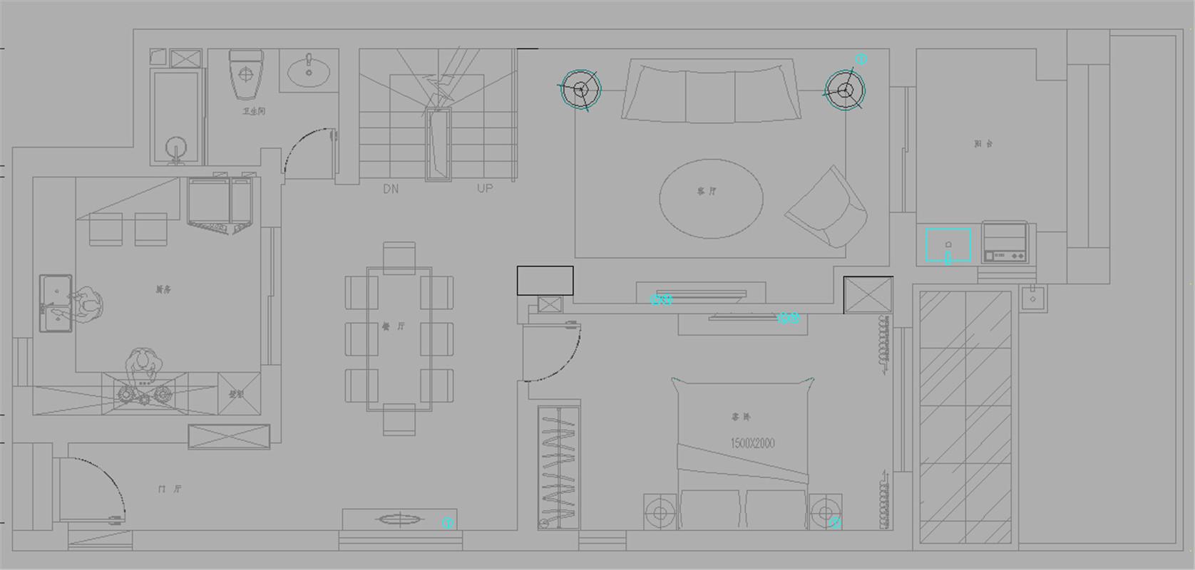 保利茉莉公 别墅装修 别墅设计 聚通装璜 户型图图片来自jtong0002在保利茉莉公馆叠加别墅装修现代的分享