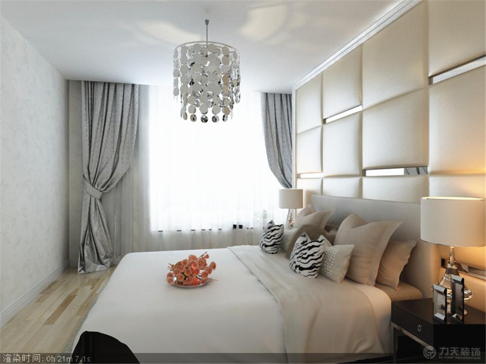二居 现代 白领 收纳 80后 小资 卧室图片来自阳光放扉er在雅仕兰庭-83.9㎡-现代风格的分享