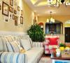 龙城一号田园风格设计沙发