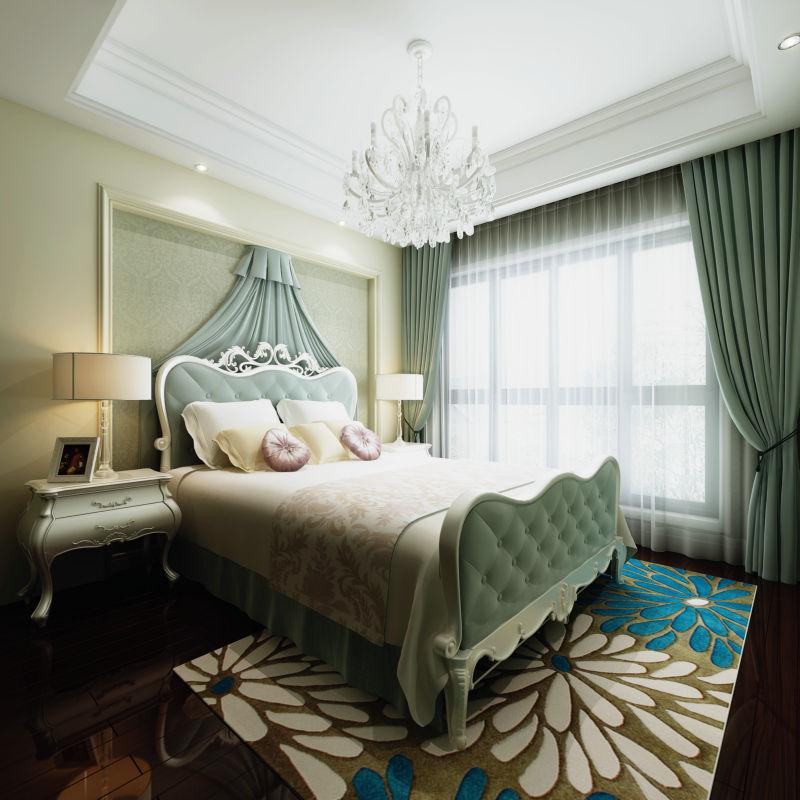 银泰泰悦湾 148平米 现代欧式 卧室图片来自cdxblzs在银泰泰悦湾 148平米 现代欧式的分享