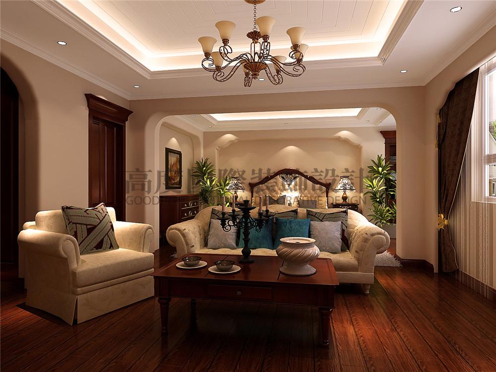 简约 欧式 混搭 别墅 小资 卧室图片来自成都高度国际在双拼别墅 400㎡ 托斯卡纳风格的分享