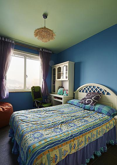 儿童房图片来自家装大管家在最炫民族风 156平混搭中式居的分享