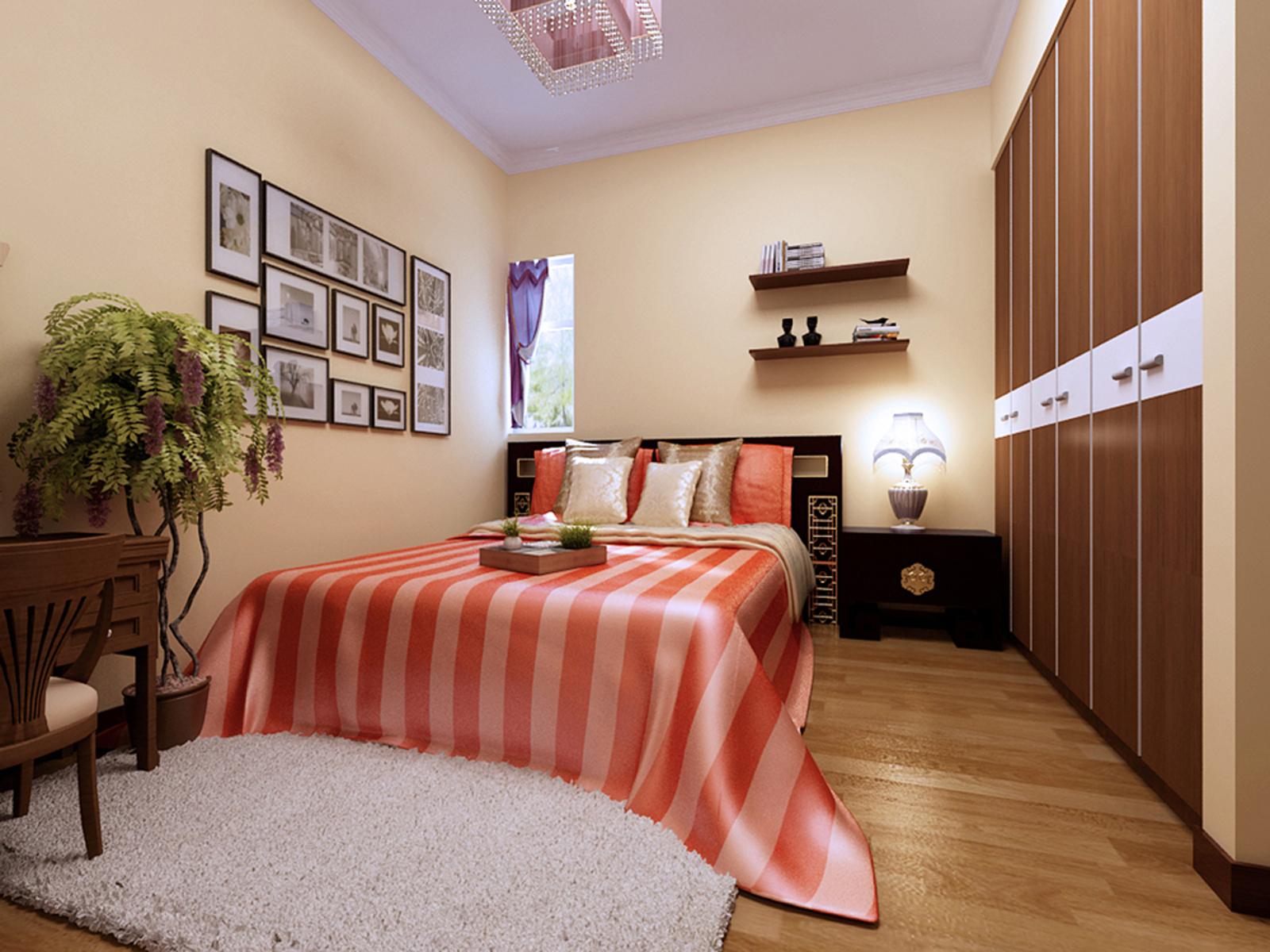 混搭 一居室装修 新房装修 卧室图片来自实创装饰上海公司在虚实隐现的禅意空间的分享