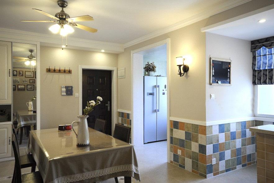 简约 三居 客厅 卧室 厨房 餐厅图片来自合肥宅速美装饰在柏庄春暖花开137平方现代风的分享