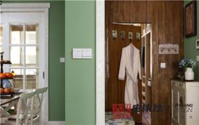 三居 美式 小清新 玄关图片来自大墅尚品-由伟壮设计在『美の风』—美式乡村风格的分享