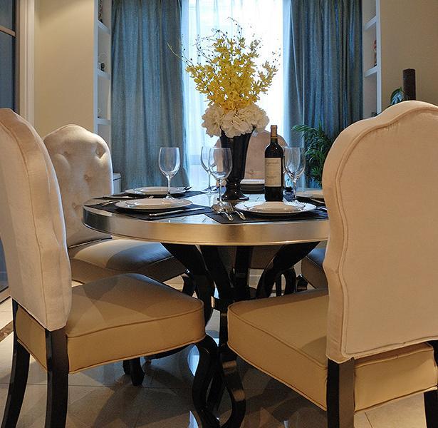 餐厅图片来自佰辰生活装饰在131平低调奢华和新古典完美邂逅的分享