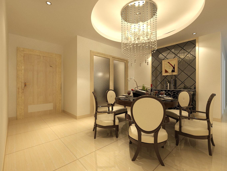 三居 欧式 可逸江畔 145平米 新房装修 餐厅图片来自传承正能量在31.9万的简约时尚的温馨家庭的分享