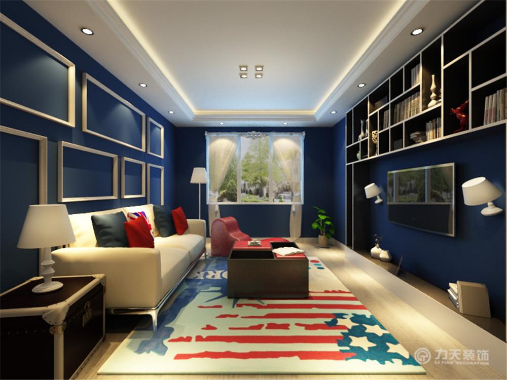 英式 二居 白领 收纳 80后 小资 客厅图片来自阳光放扉er在幸福城-85平米-英式风格的分享