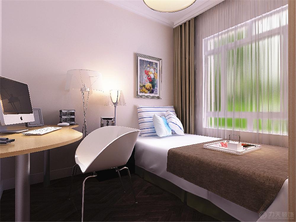 现代 二居 白领 收纳 80后 小资 卧室图片来自阳光放扉er在天房彩郡-88平米-现代风格的分享