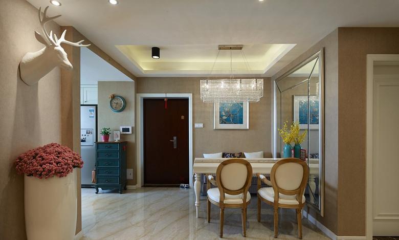 餐厅图片来自家装大管家在112平美式混搭屋 豪华大气显典雅的分享