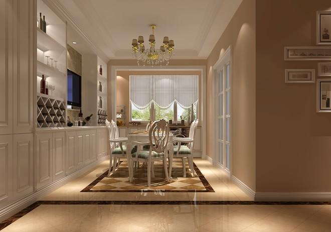 简约 欧式 白领 餐厅图片来自亚光亚装饰神设手小美在富力新城的分享