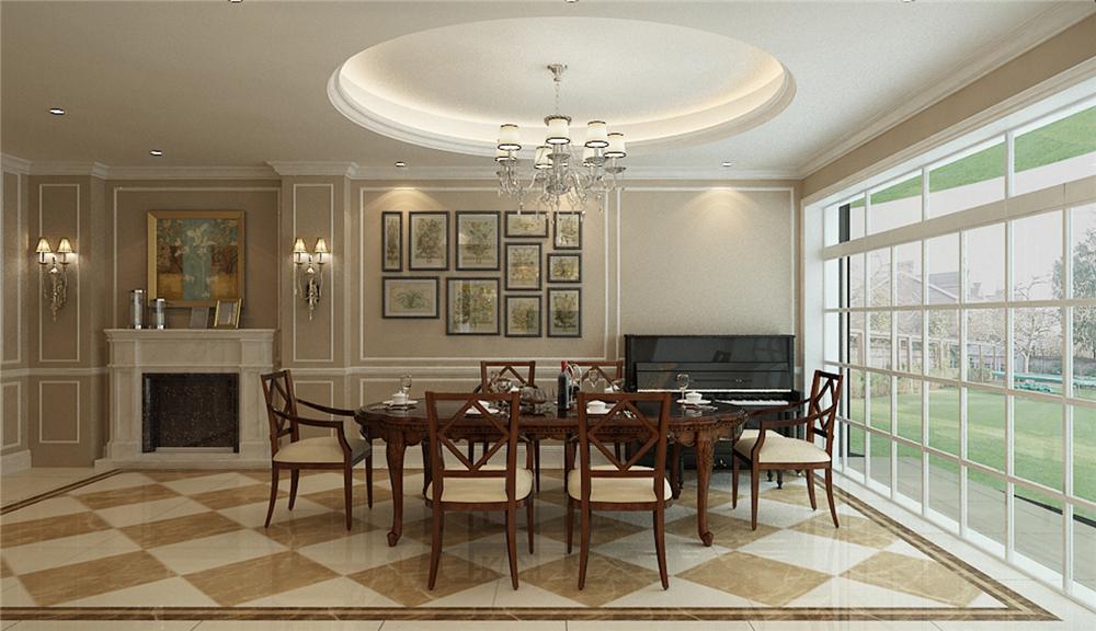 别墅 别墅装修 别墅设计 聚通装潢 长堤半岛 餐厅图片来自jtong0002在长堤半岛别墅装修简欧风格设计的分享