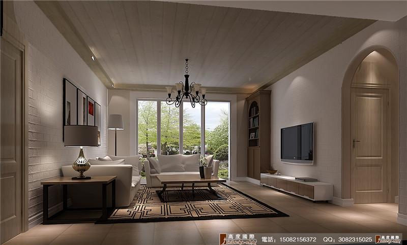 高度国际 客厅图片来自成都高端别墅装修瑞瑞在200平米后现代-成都高度国际的分享