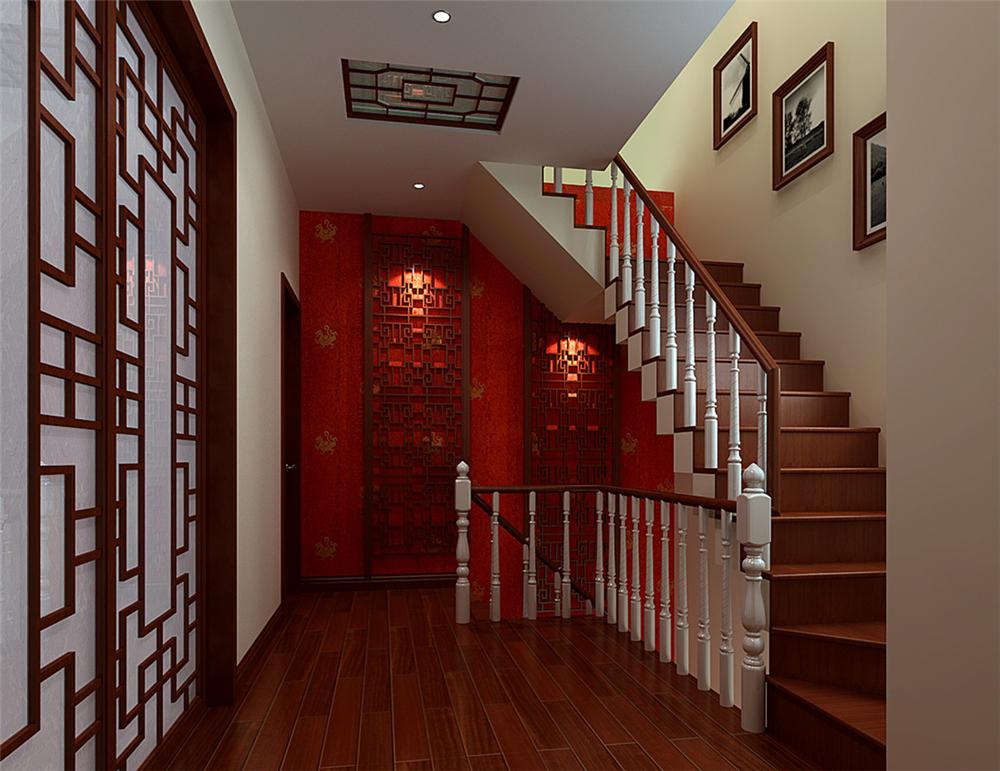 三居 混搭 白领 收纳 80后 小资 楼梯图片来自实创装饰完美家装在怀柔龙泉小区180平混搭风格案例的分享