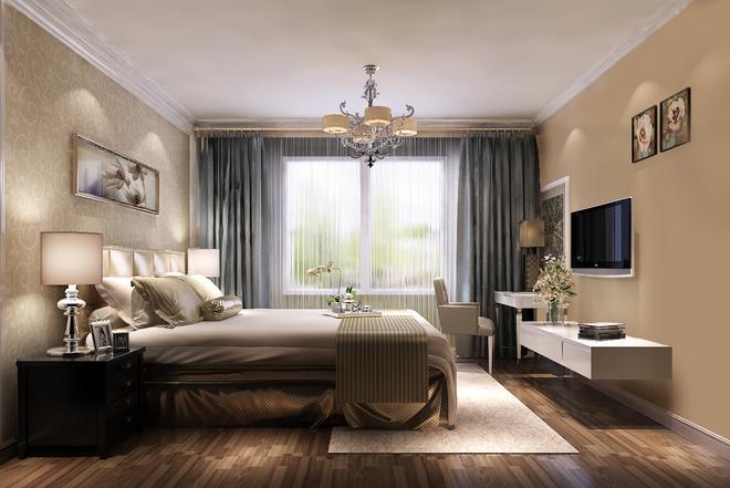 简约 欧式 白领 卧室图片来自亚光亚装饰神设手小美在富力新城的分享