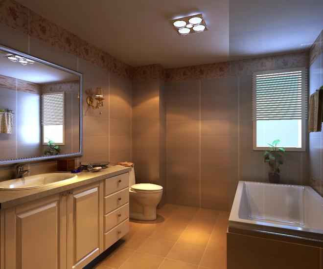 三居 白领 卫生间图片来自亚光亚装饰小李在上林溪 三居室 新古典风格的分享