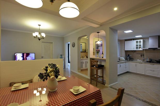 二居 80后 白领 餐厅图片来自天津都市新居装饰有限公司在河东红城 美式风格 都市新居的分享
