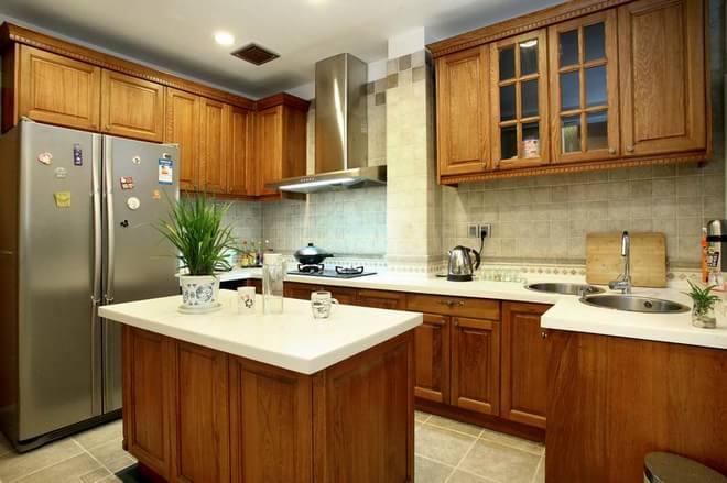 二居 白领 旧房改造 厨房图片来自天津都市新居装饰有限公司在河西泰达园 中式 都市新居的分享