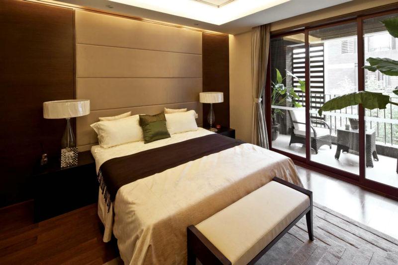 香碧歌庄园 280平米 现代中式 卧室图片来自cdxblzs在香碧歌庄园 280平米 现代中式的分享