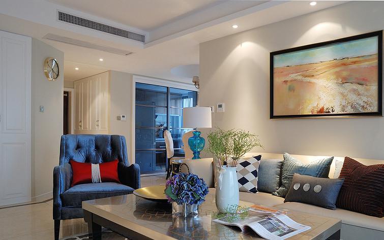 客厅图片来自佰辰生活装饰在131平低调奢华和新古典完美邂逅的分享