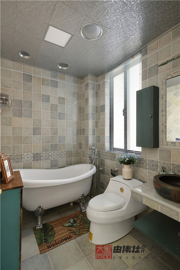 三居 美式 小清新 卫生间图片来自大墅尚品-由伟壮设计在『美の风』—美式乡村风格的分享