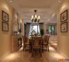 餐厅是为了招待来宾和宴请朋友用的,在材料选择上多倾向于较硬、光挺、华丽的材质。